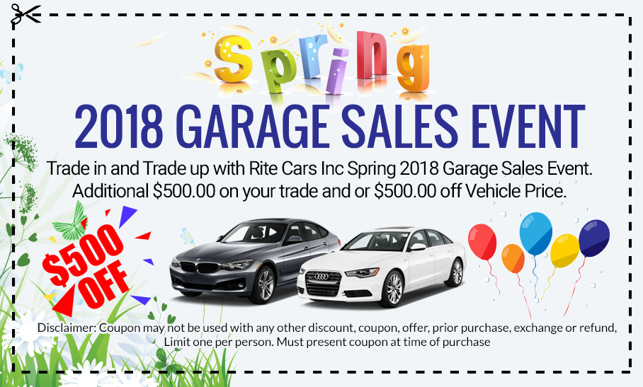GARAGE SALES EVENT